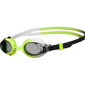 arena X-Lite Goggles Kinder smoke-green-black